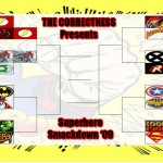 Superhero Smackdown: The Brackets