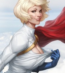 The Correctness Casting Couch:Powergirl